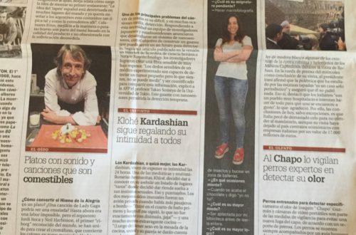 """""""Proust, el preguntón"""" para el diario El País, enero 2016"""